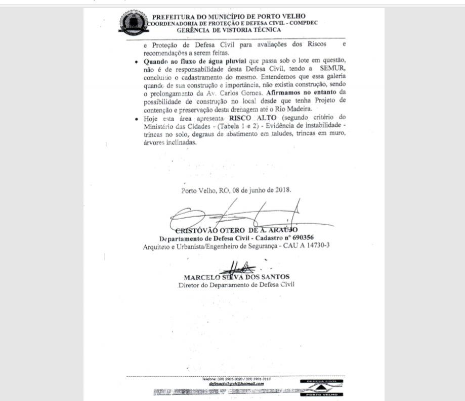 ATESTADO FANTA: Câmara Municipal de PVH por duas vezes aceita documentos irregulares em licitação
