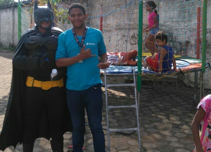 Unidade de saúde Osvaldo Piana e universitários promoveram ação social no dia do nutricionista